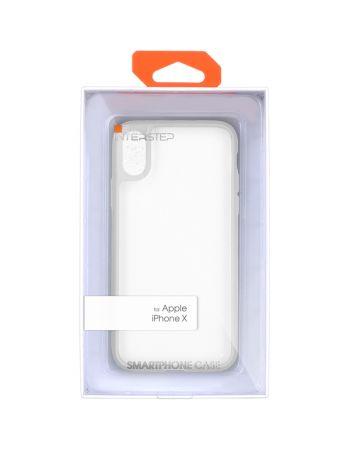 Чехол для iPhone InterStep iPhone X PURE-CASE ADV белый